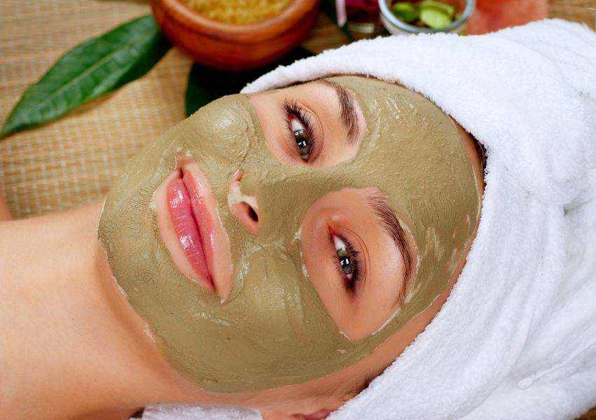 Spa Mud Mask treatment